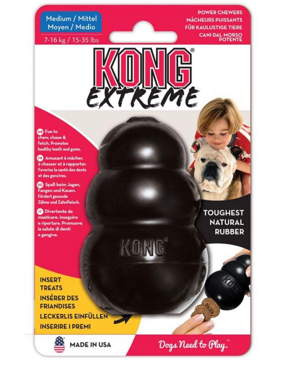 Kong perro caucho extreme portapasabocas medium