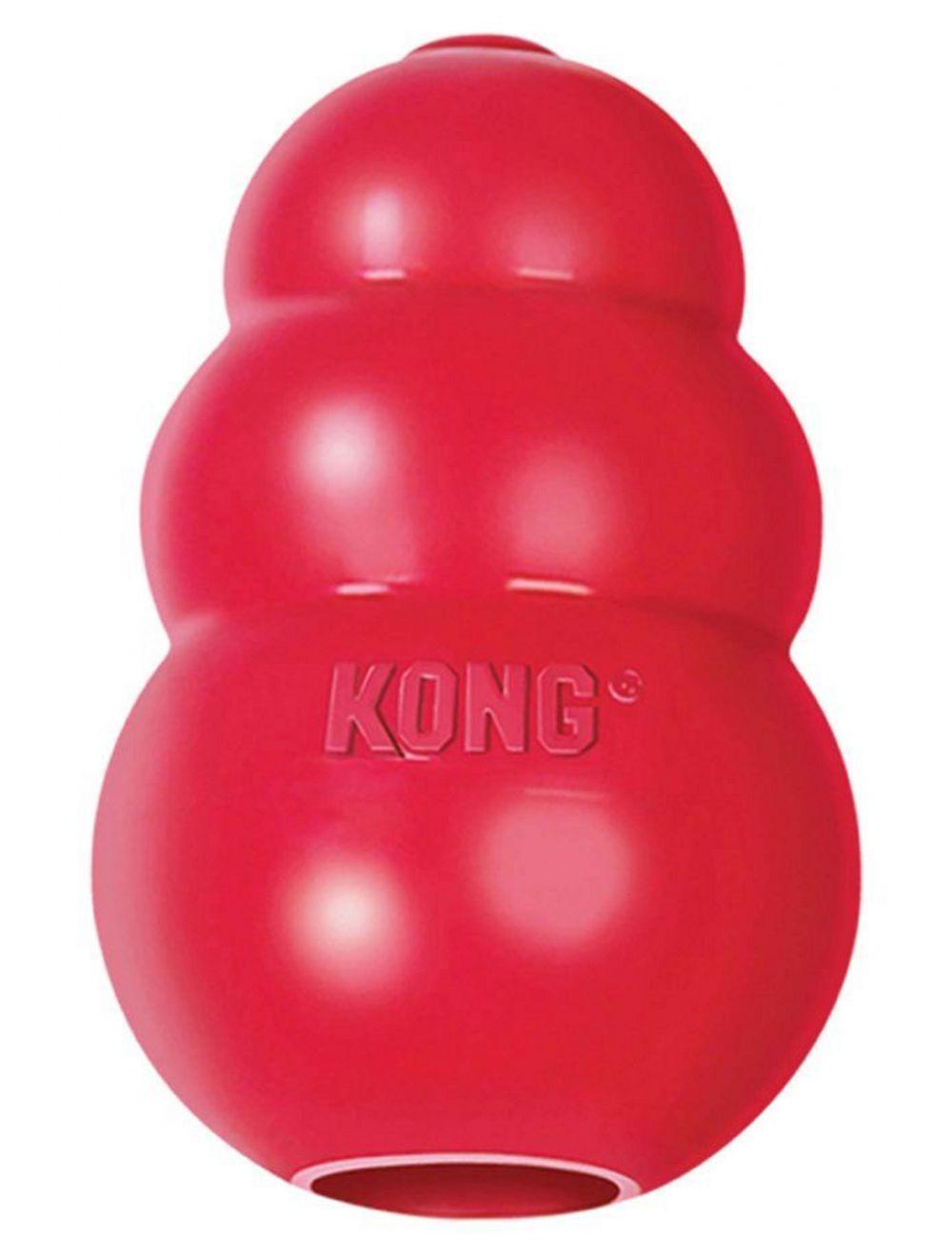 Kong perro caucho classic portapasabocas