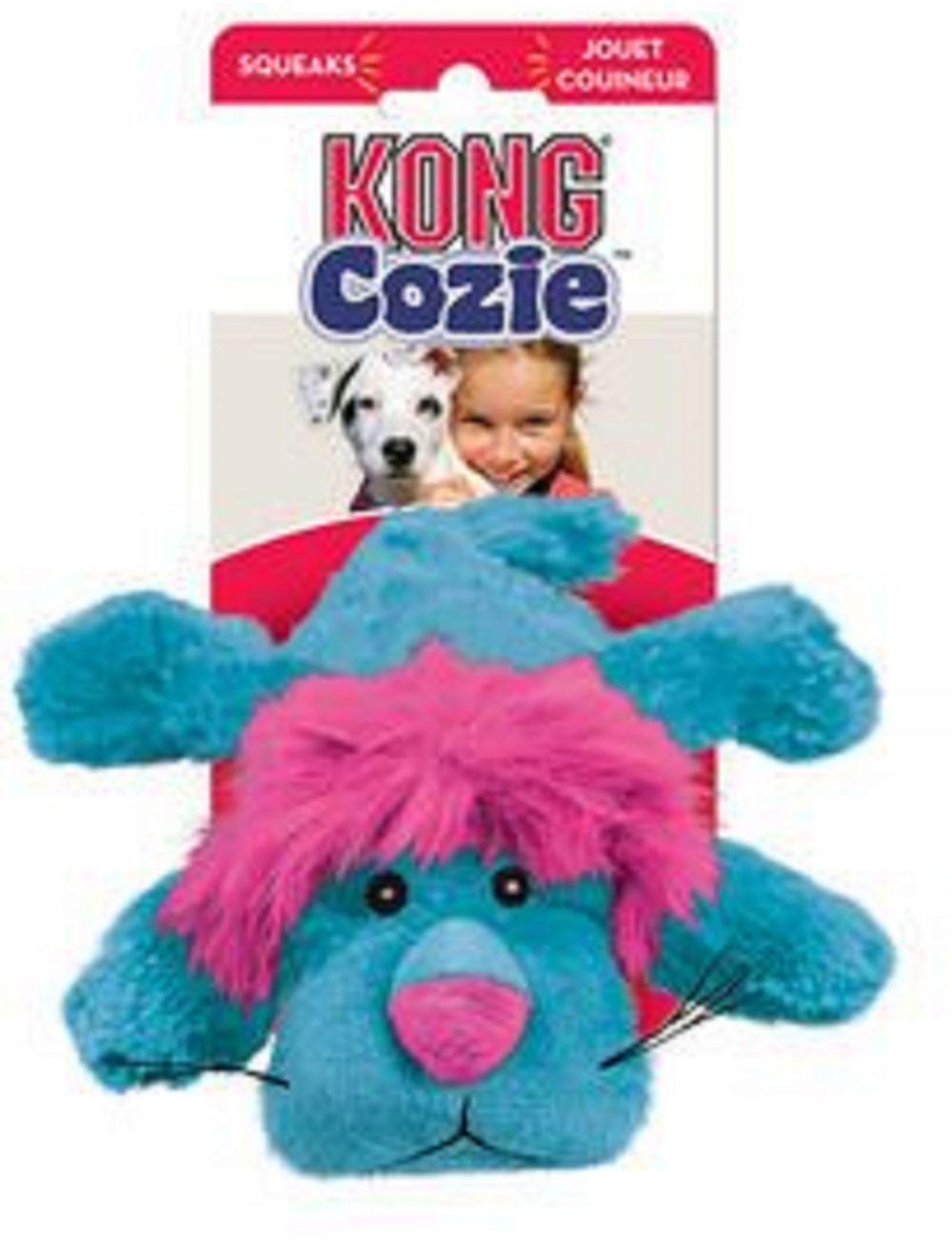 Kong Peluche Para Perro León Large - Ciudaddemascotas.com