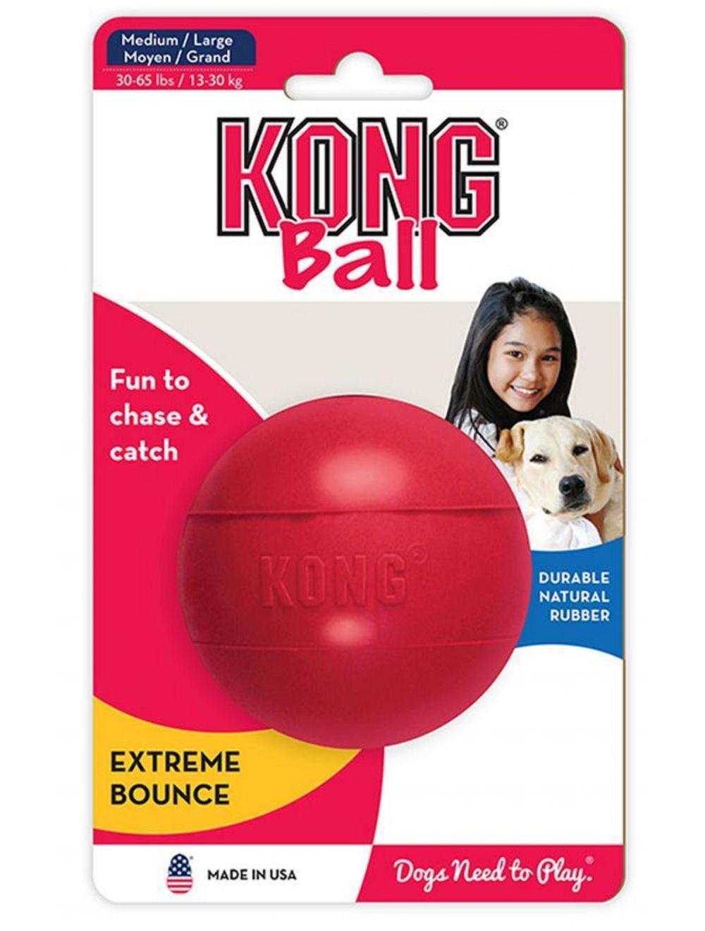 Kong perro caucho classic pelota medium-large