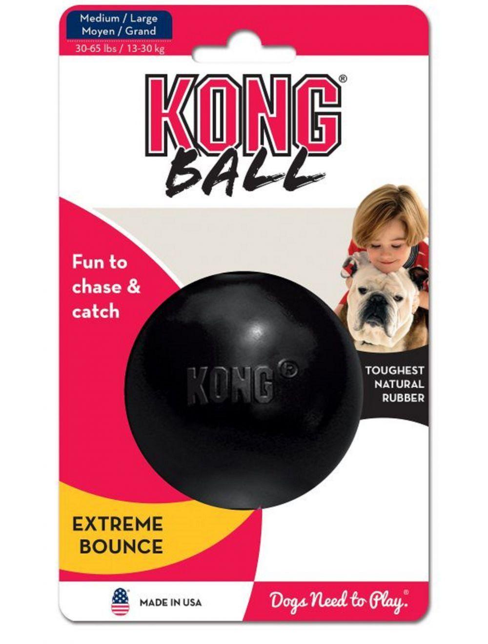 Kong perro caucho extreme pelota medium-large