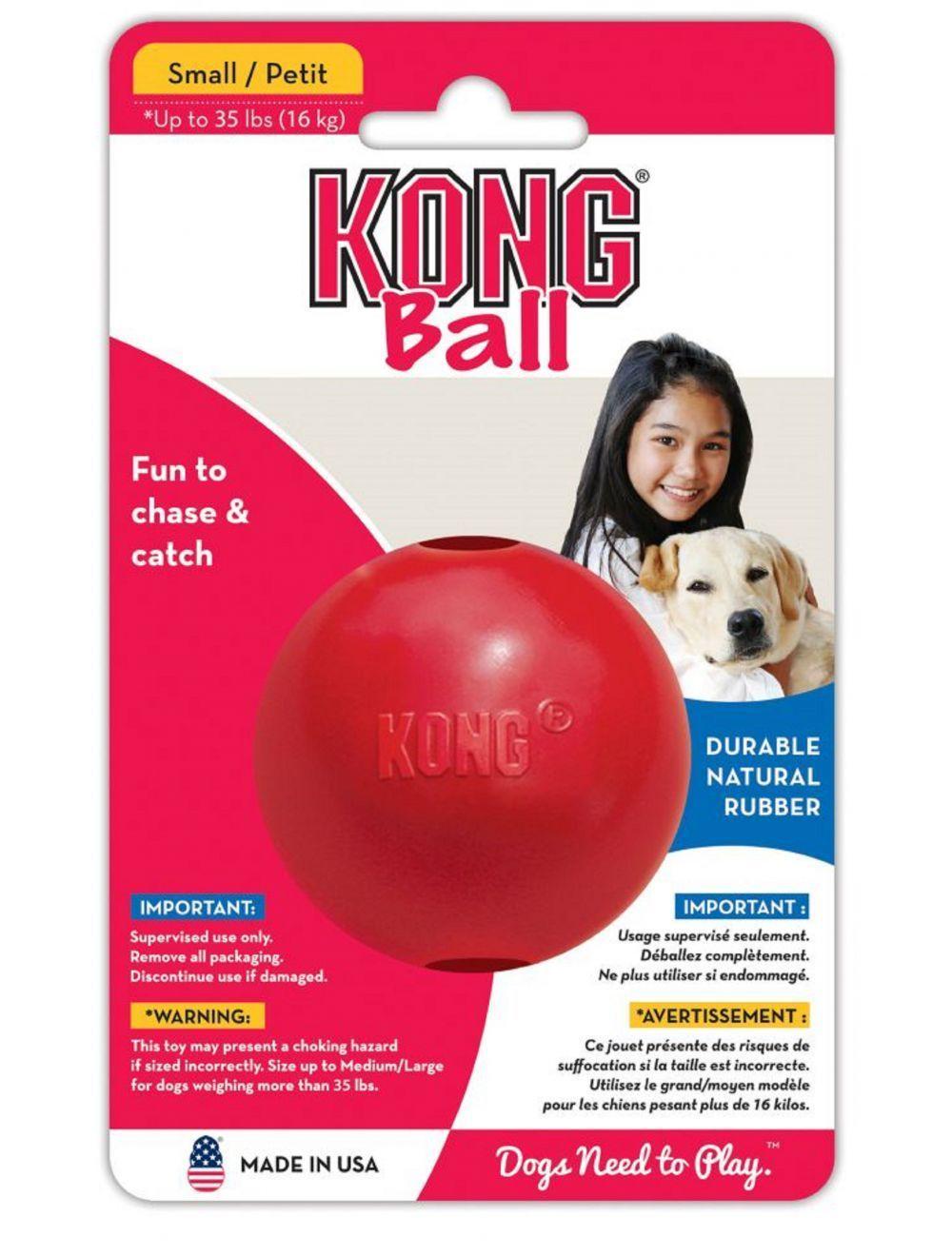 Kong perro caucho classic pelota small