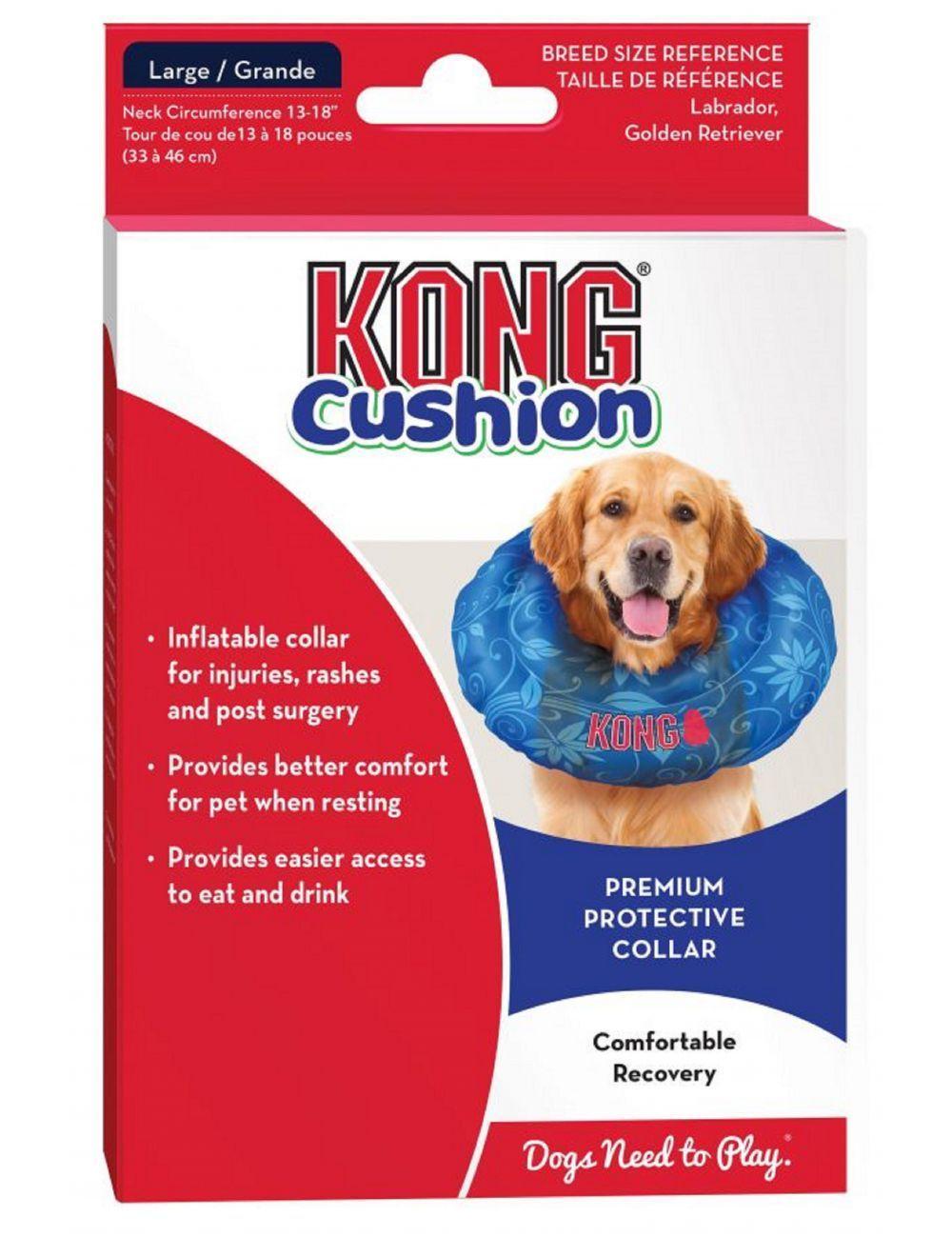 Kong Collar De Recuperacion Inflable Cushion
