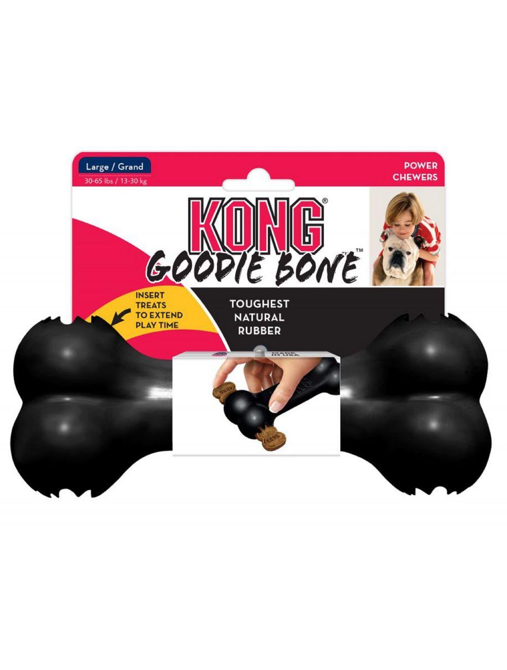 Kong perro caucho extreme hueso