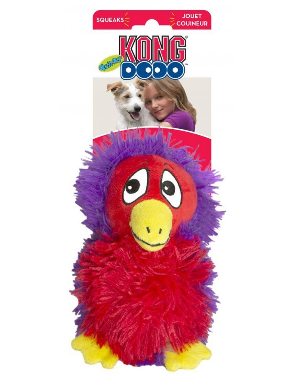 Kong Perro Peluche Dodo Quirky Medium Surtido