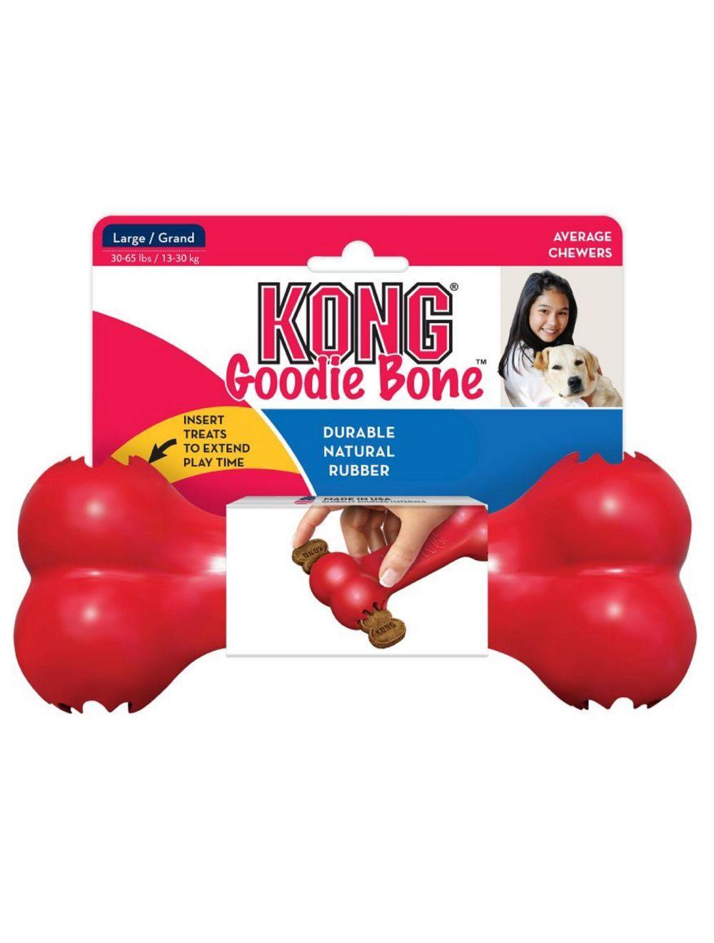 Kong perro caucho classic hueso