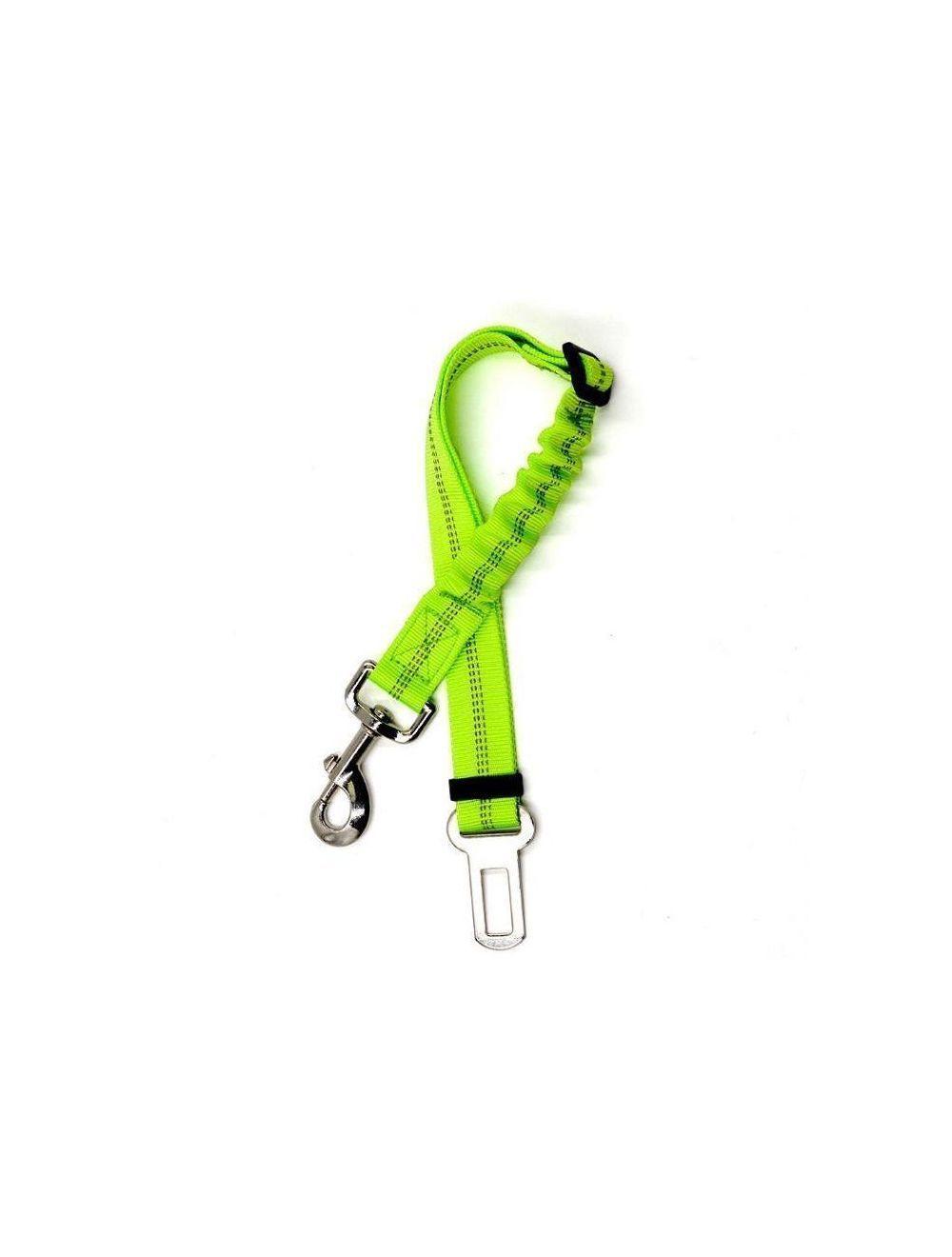 Cinturón de seguridad elástico - Verde