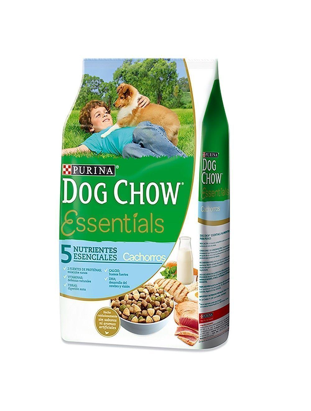 Comida Dog Chow Cachorros Essentials 1.5 Kg - Ciudaddemascotas.com