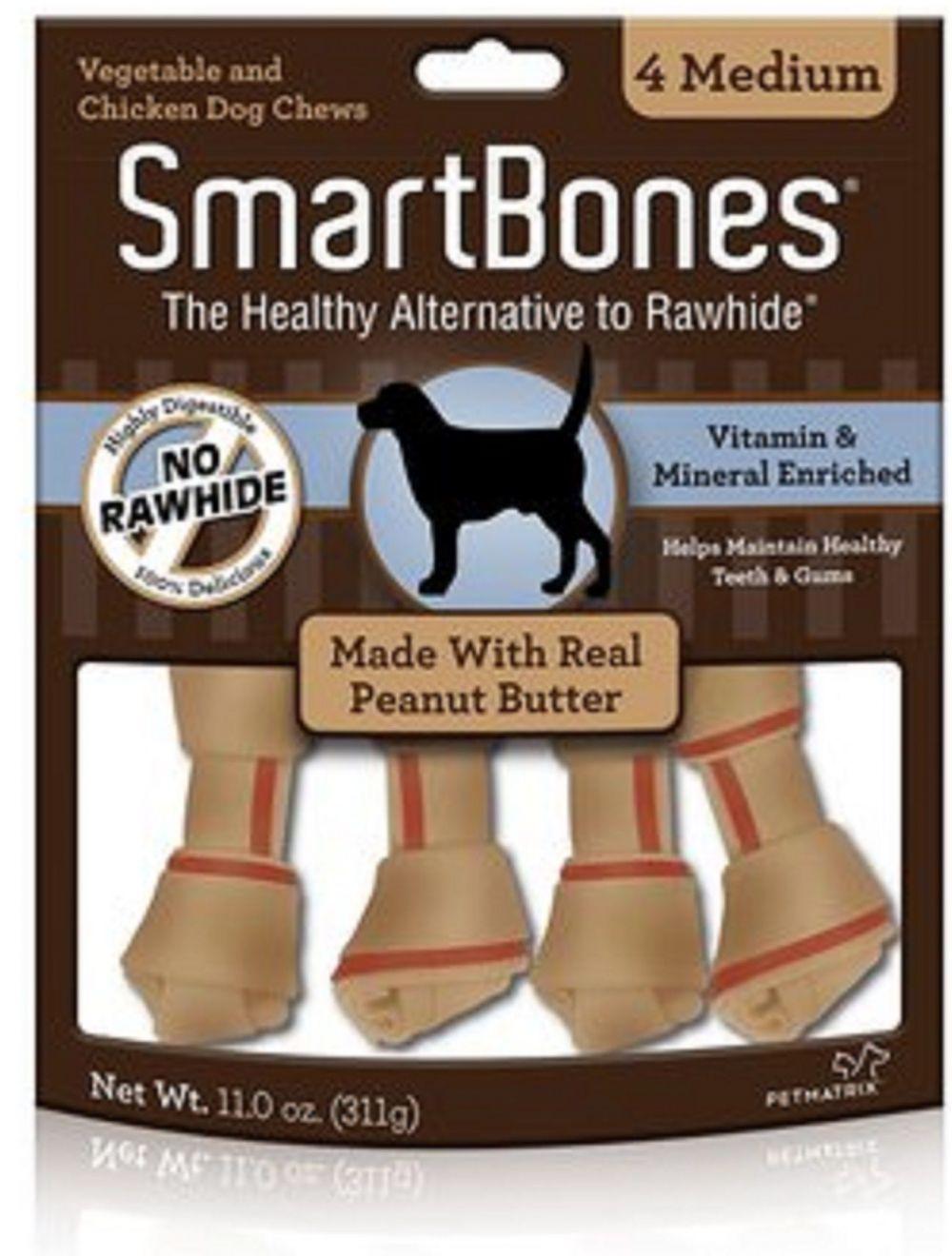 Smartbones para Perros Peanut Butter Medium-Ciudaddemascotas.com