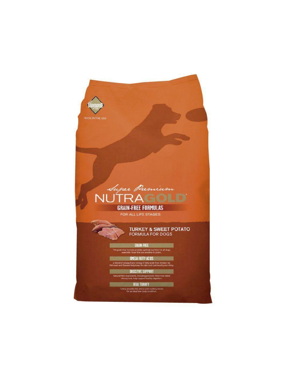 Nutra Gold Dog GF Turkey & Sweet Pot 13.6Kg