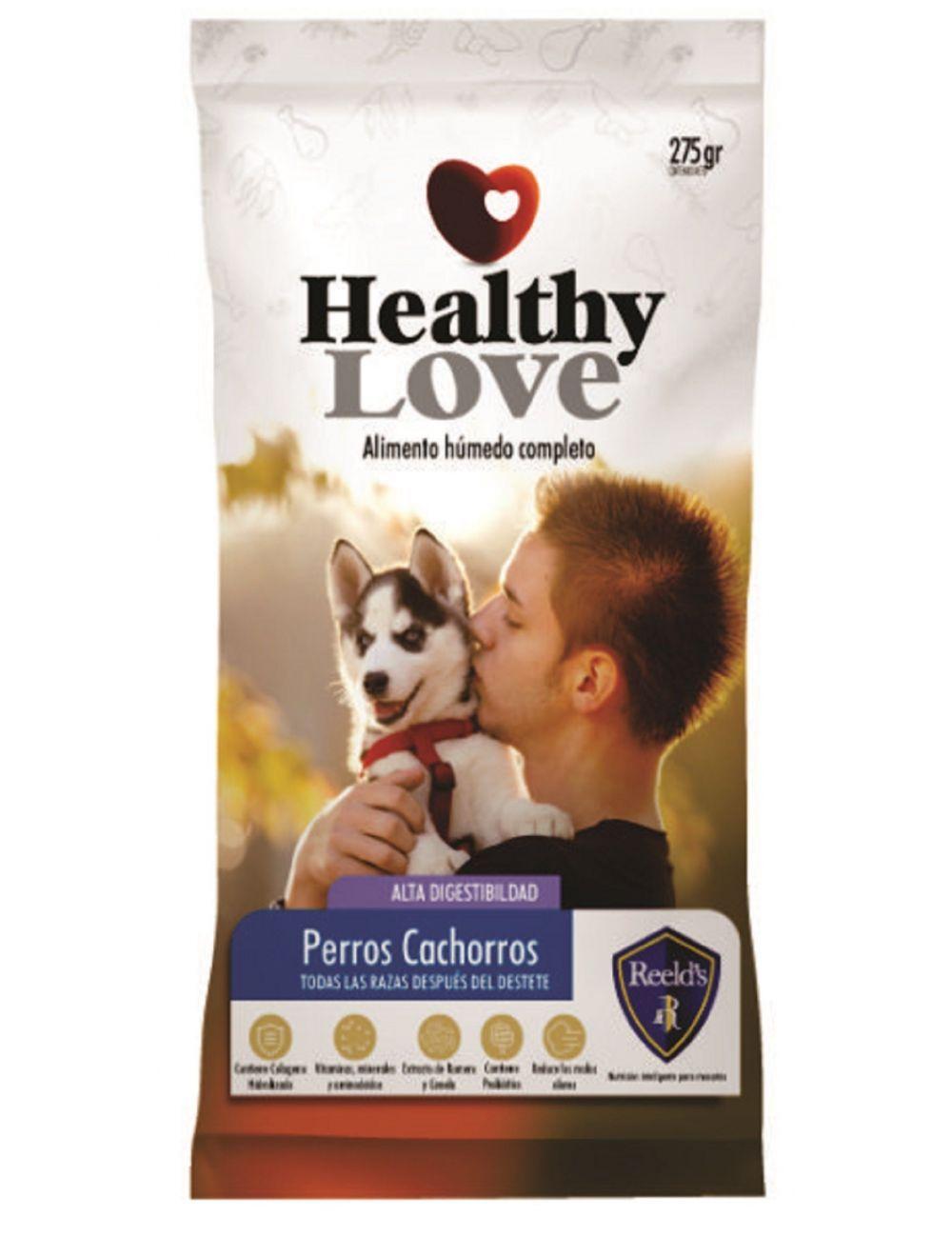 Comida Healthy Love Perros Cachorros - Ciudaddemascotas.com