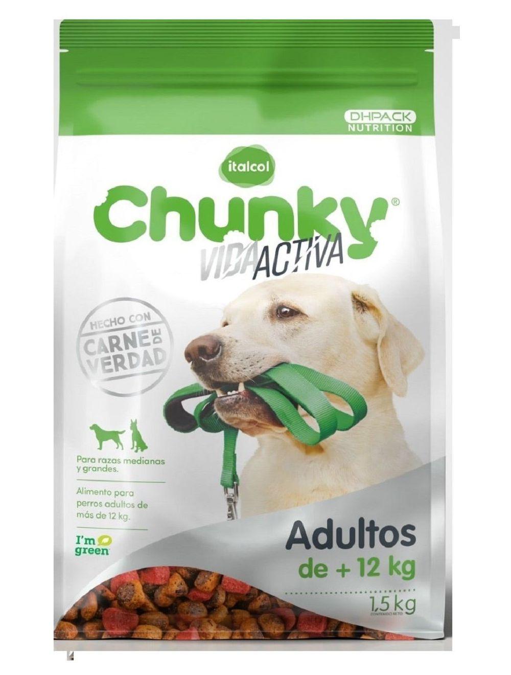 Chunky adultos vida activa 3 kg