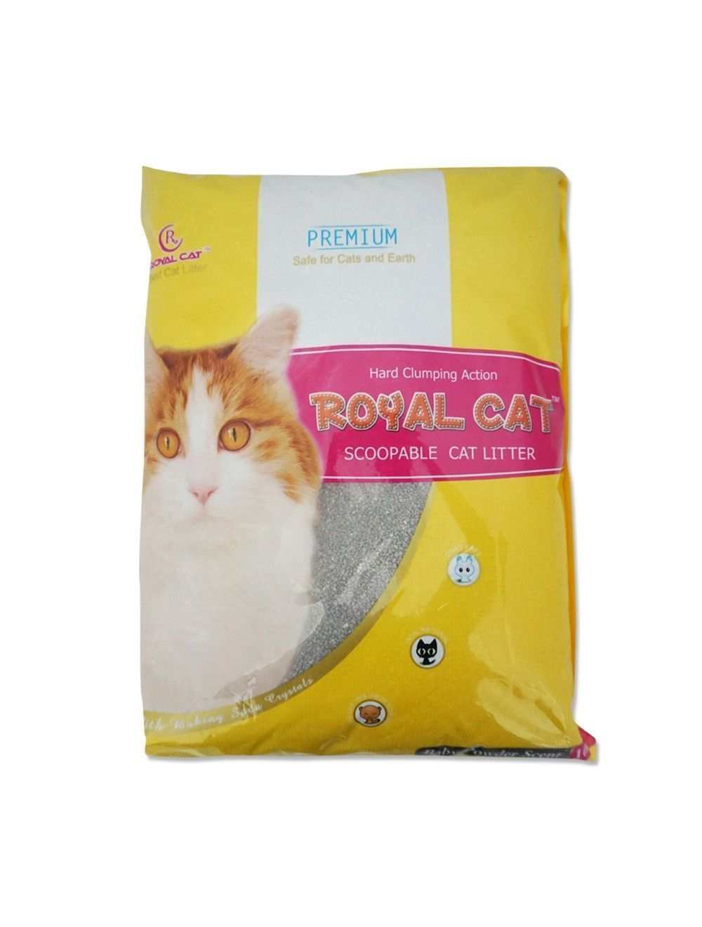 Royal Cat Arena Talco de Bebe 9,5 Kg