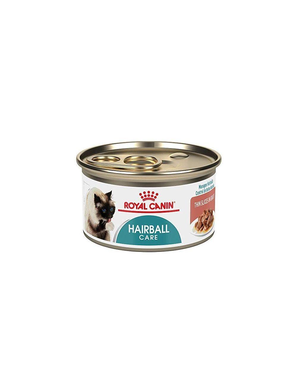 Lata para Gato Royal Canin Cat lata Hairball-ciudaddemascotas.com