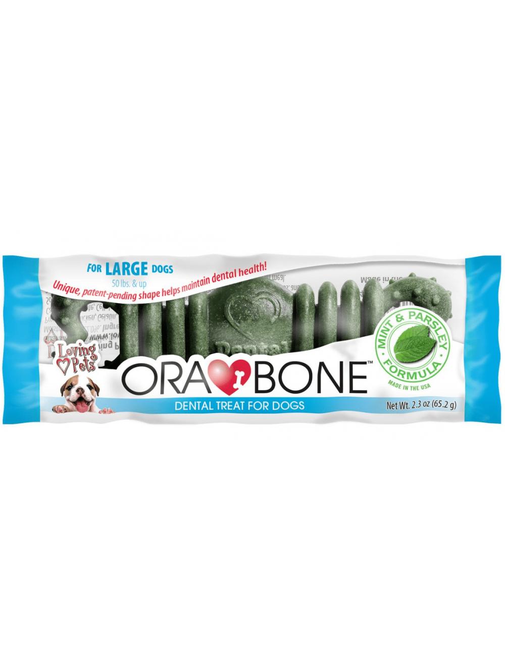 Orabone dog dental treat por unidad medium - Ciudaddemascotas.com
