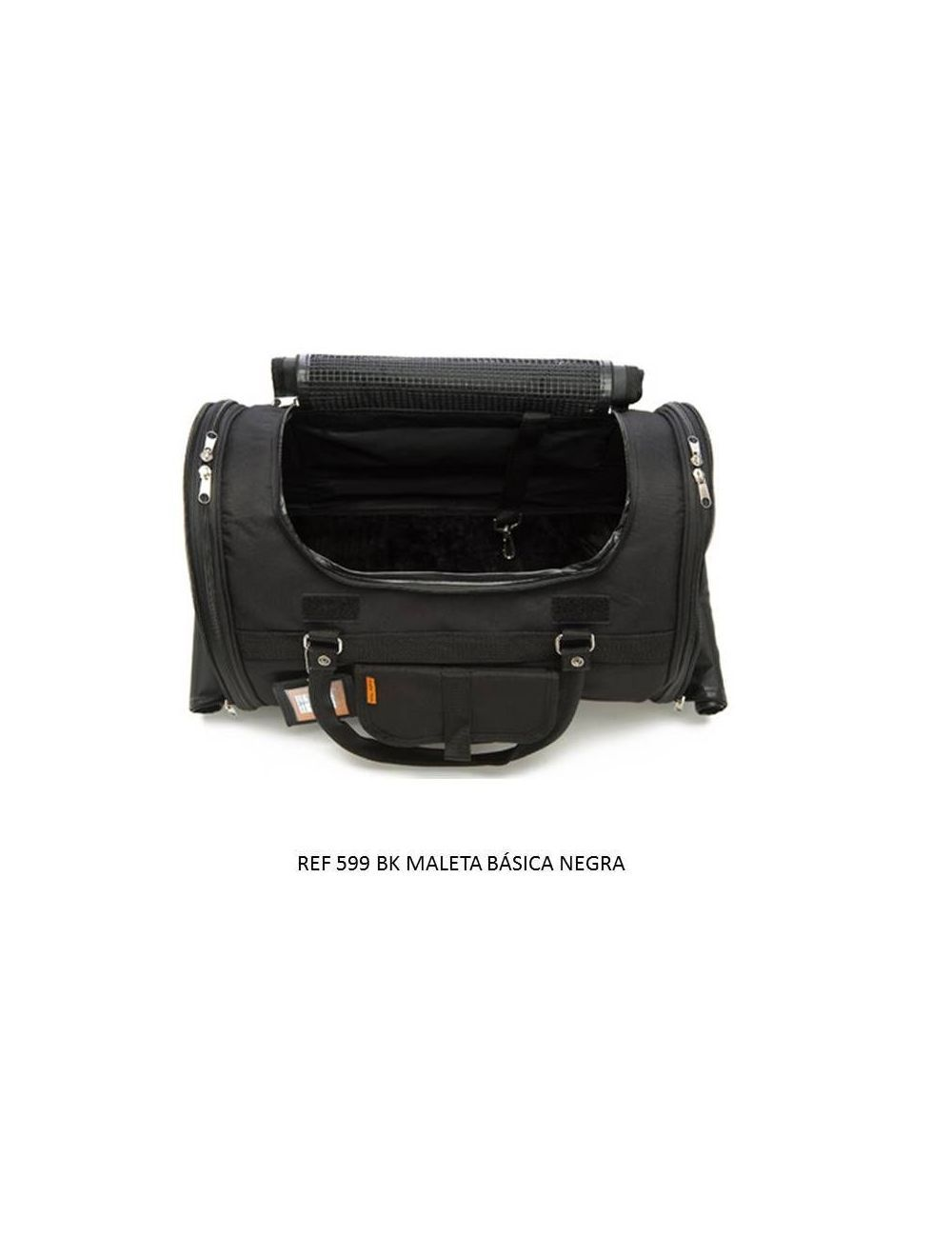 Maletin Porta-Mascotas Versatil Negro