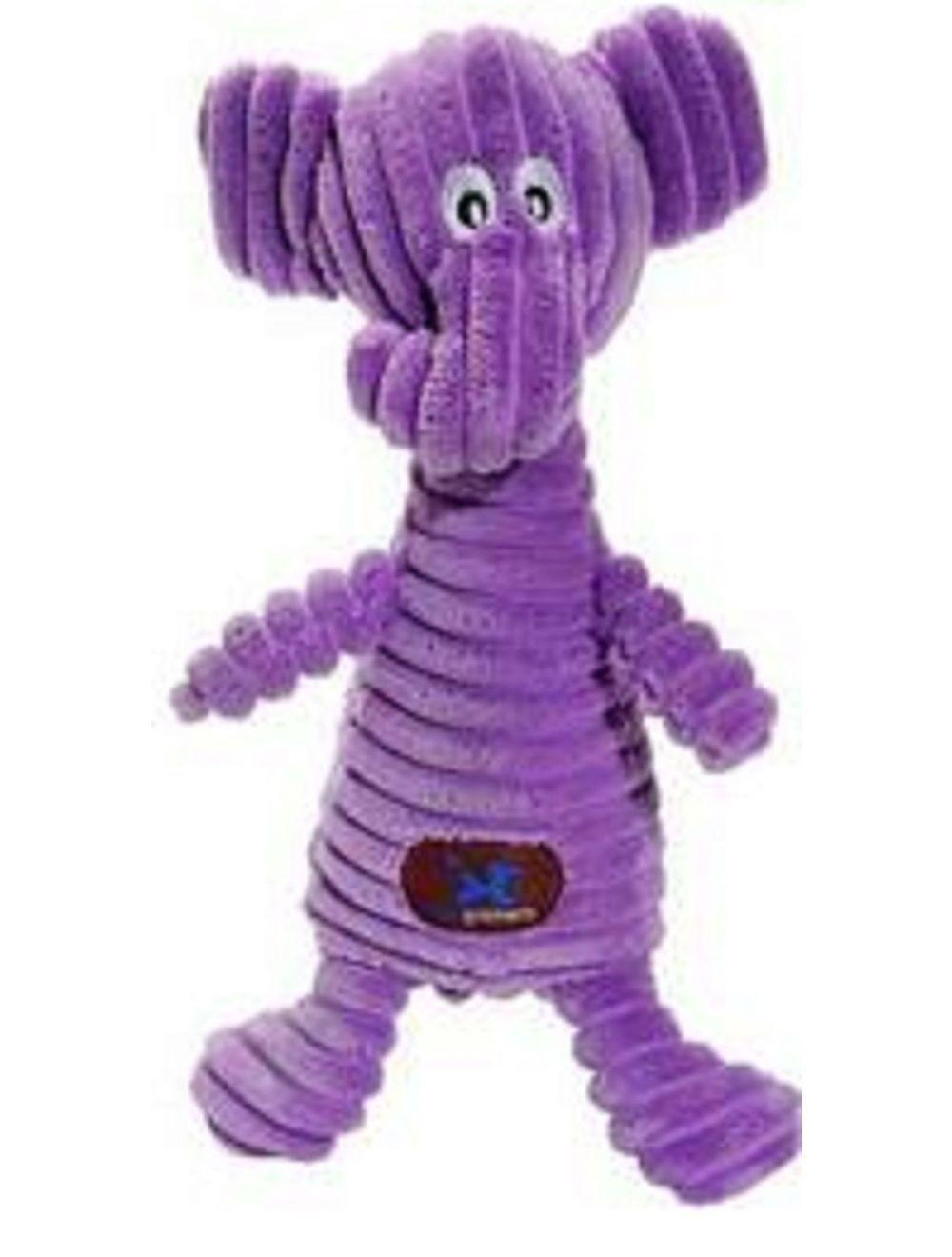 Juguete Charming pet squeakin elefante - Ciudaddemascotas.com