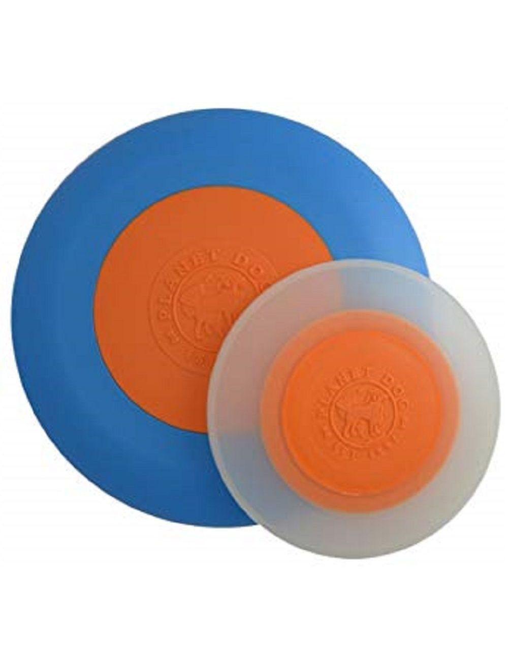 Planet dog frisbee zoom azul-naranja small