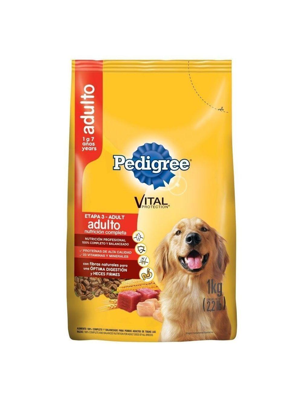 Comida Perros Pedigree Nutrición Completa -Ciudaddemascotas.com