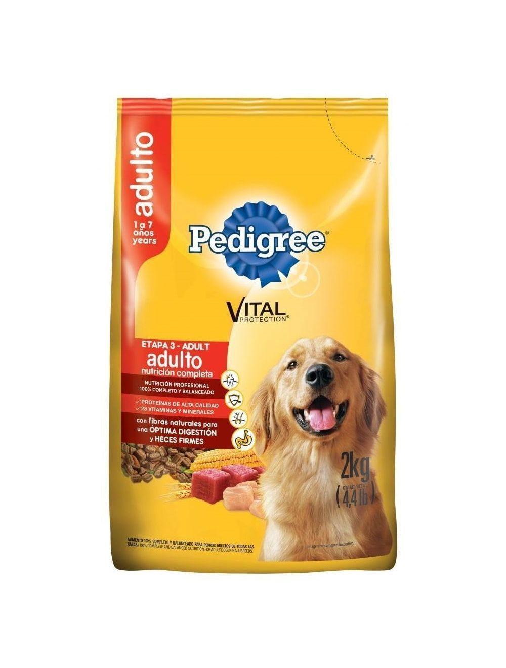 Comida para Perro Pedigree Adulto Etapa 3 - Ciudaddemascotas.com