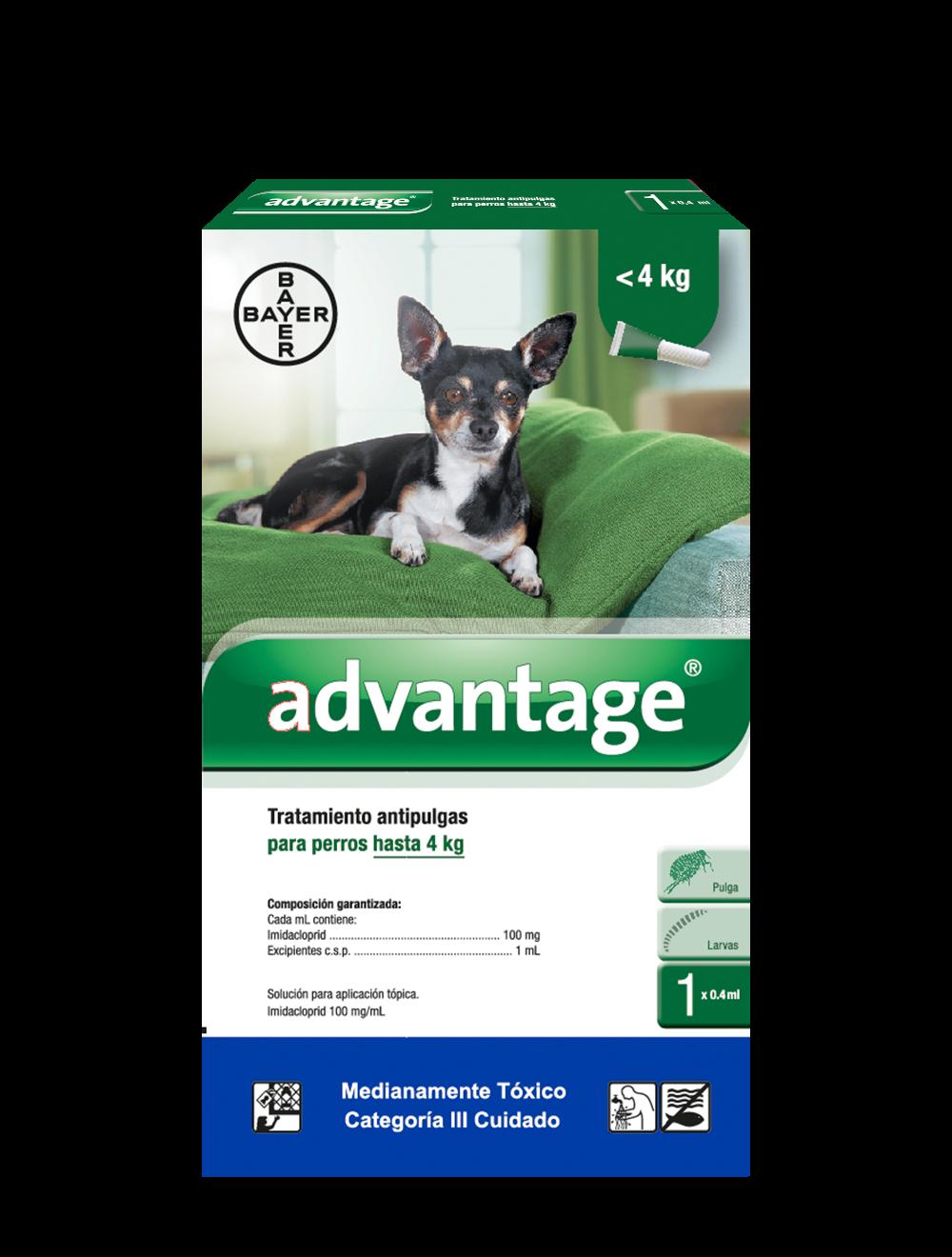 Antipulgas Advantage para Perros Pipeta-Ciudaddemascotas.com