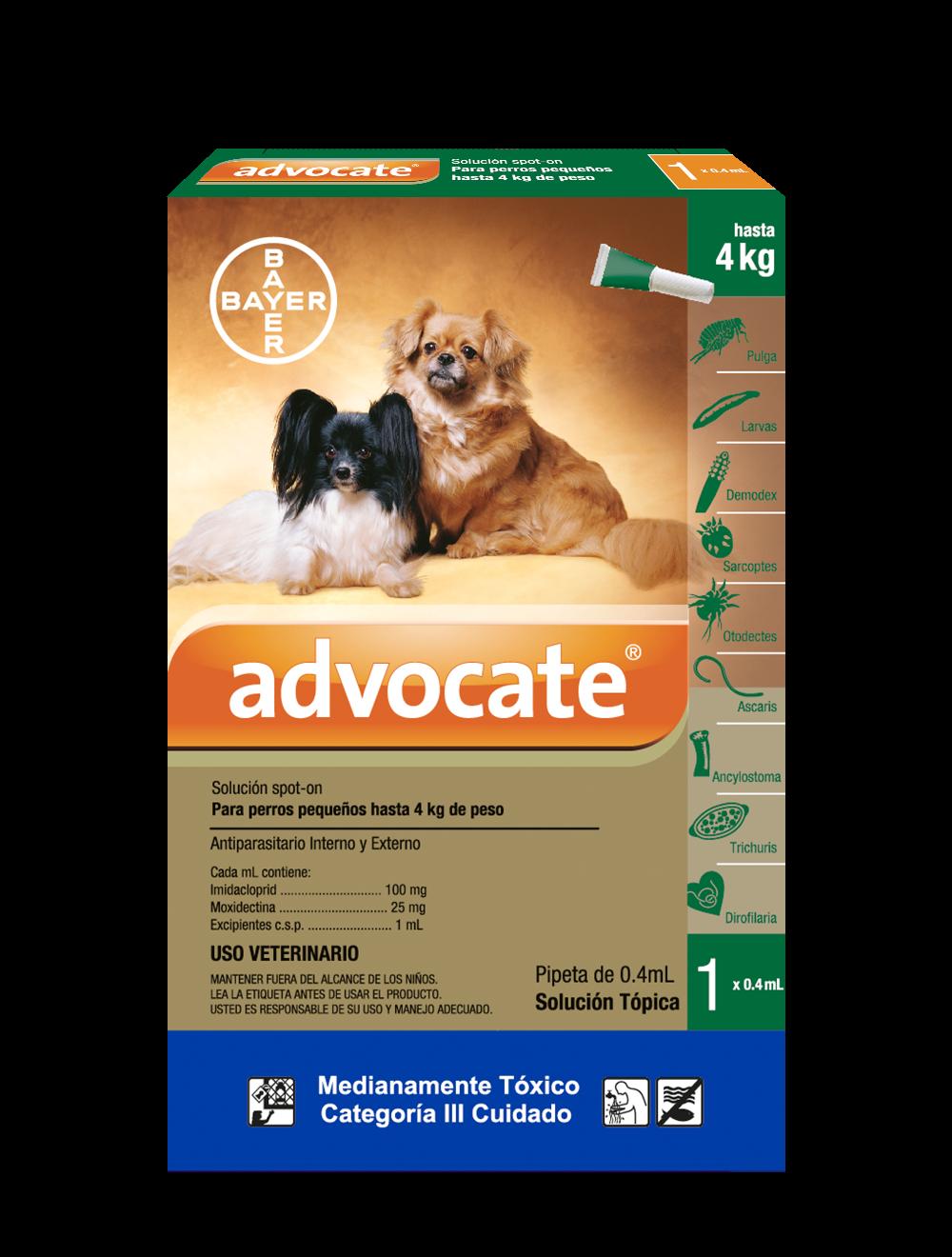 Antipulgas para perros Advocate Pipeta-Ciudaddemascotas.com