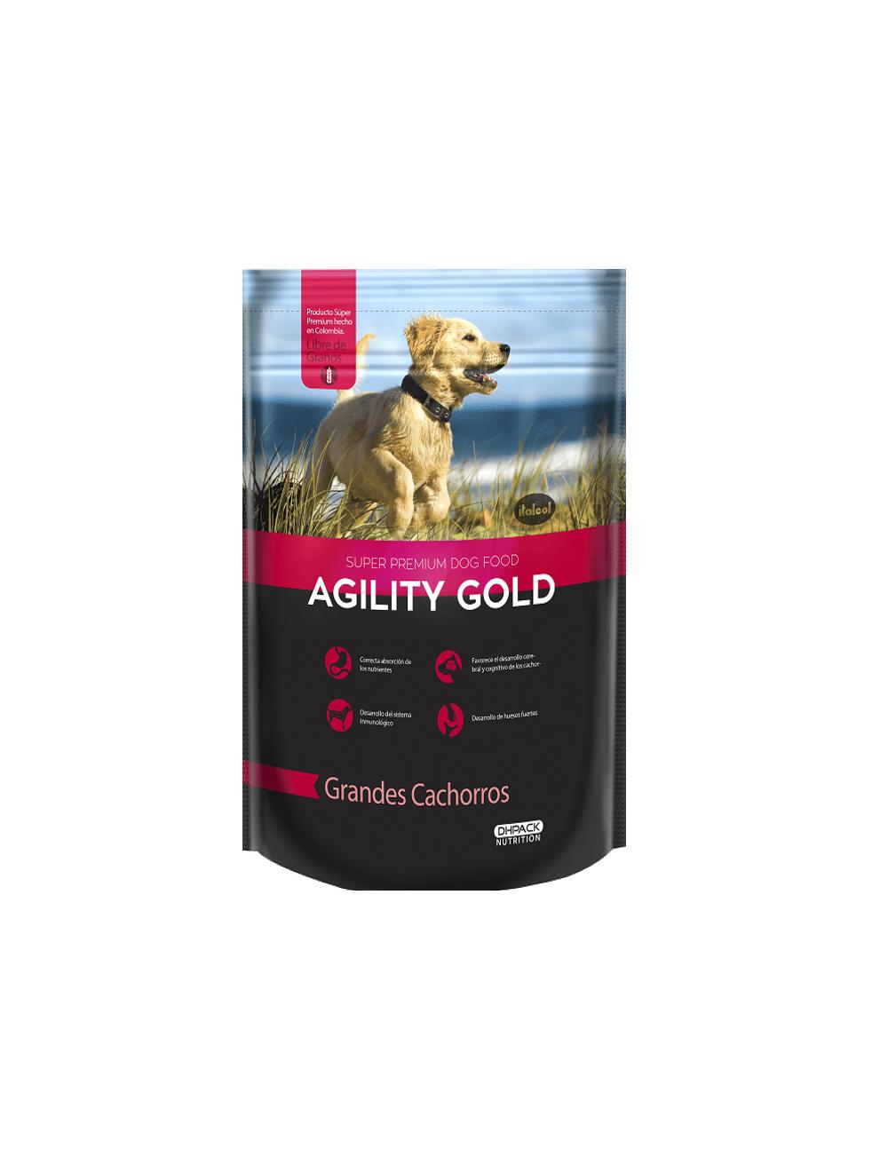 Agility Gold Grandes Cachorros - Ciudaddemascotas.com