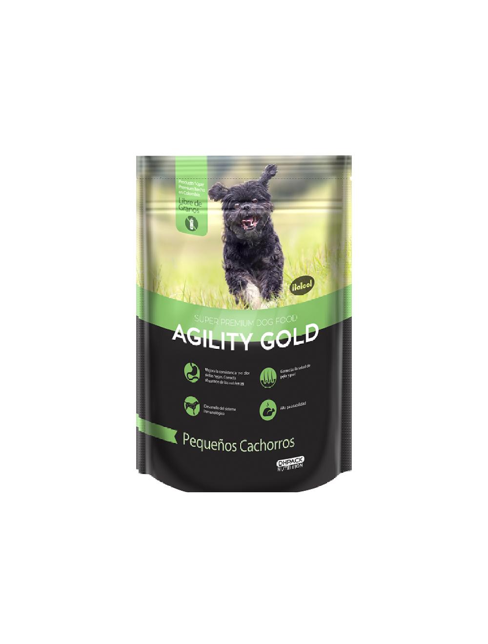 Agility Gold Pequeños Cachorros - Ciudaddemascotas.com