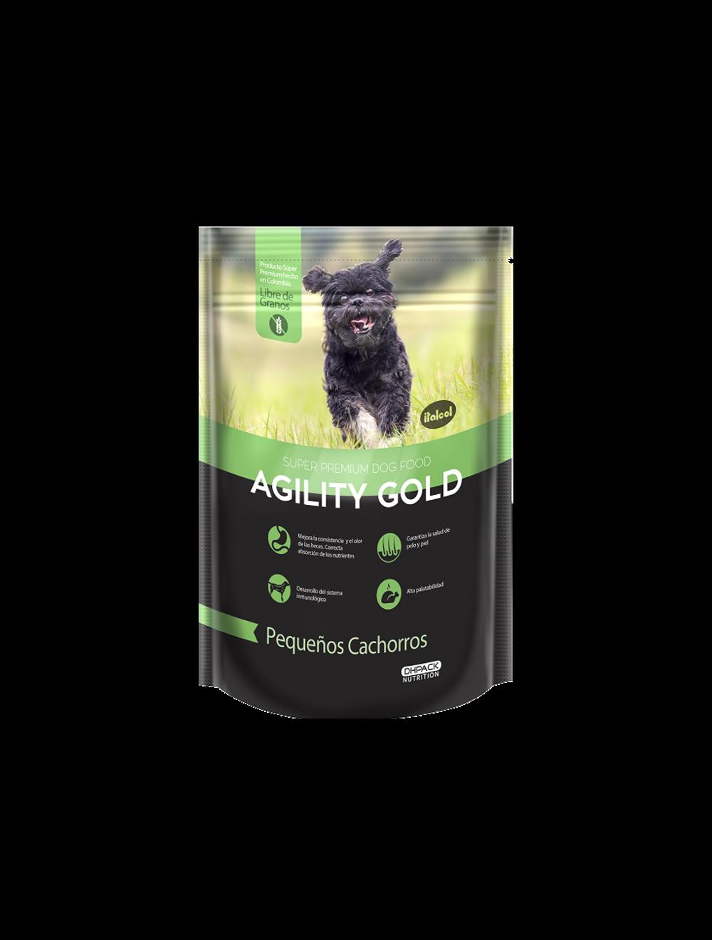 Agility Gold Pequeños Cachorros 1.5 Kg - Ciudaddemascotas.com