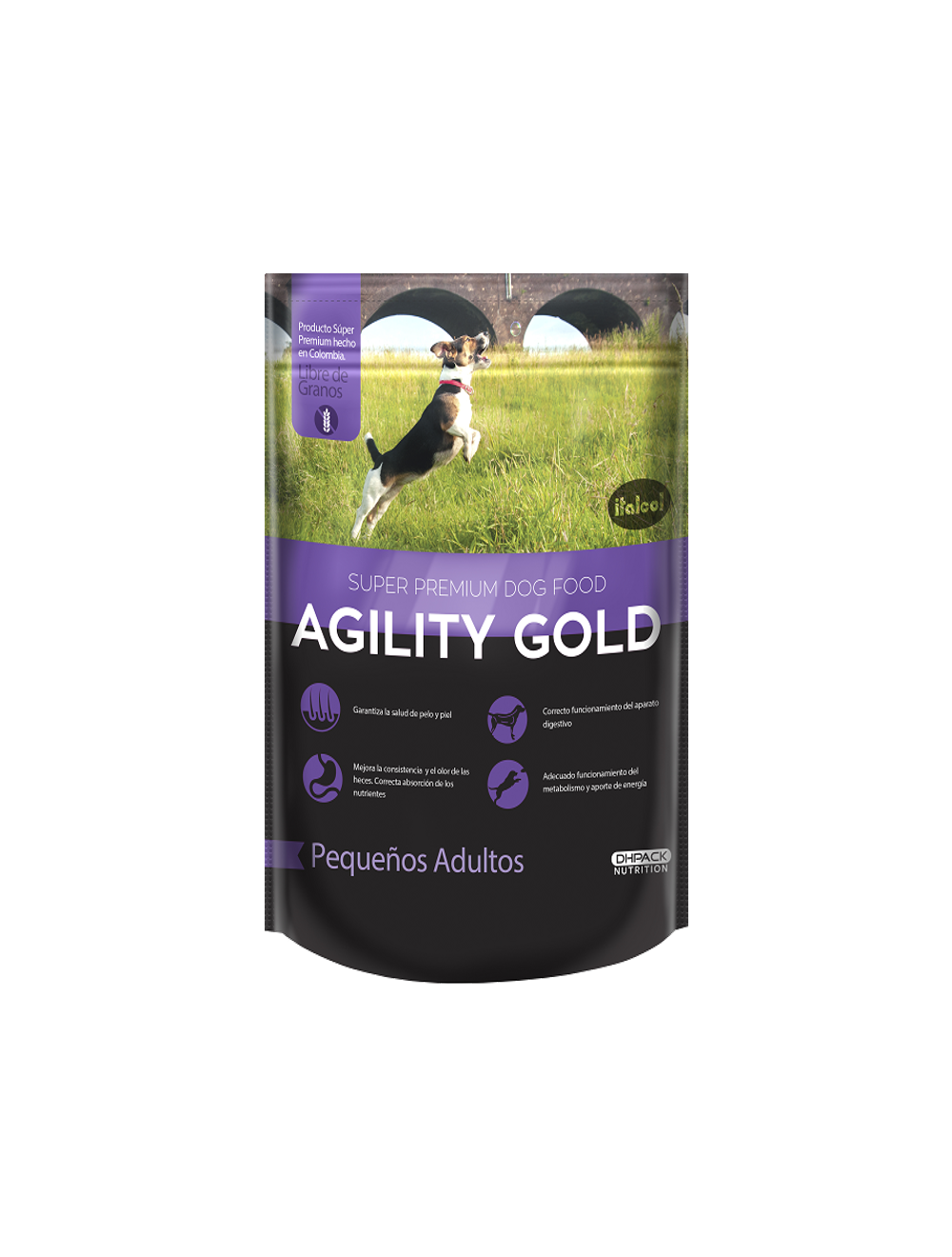 Agility Gold Pequeños Adultos x 1.5 Kg - P80