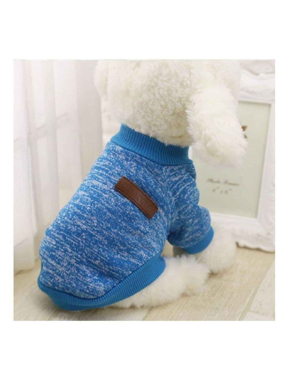 Suéter, buzo, abrigo para perro o gato Valentin For Pets en algodón  - Ciudaddemascotas.com