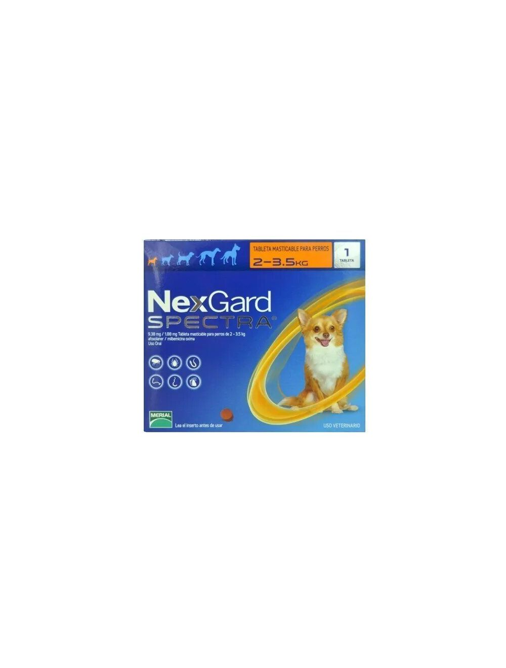Nexgard Spectra 2 - 3.5 Kg