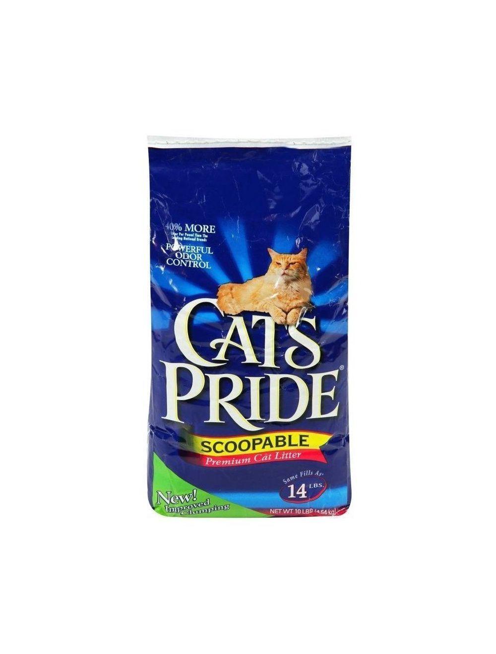 Cats Pride Premium Cat Litter Scoopable