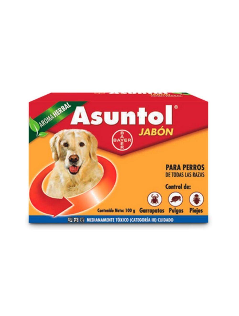 Asuntol Jabón para Perros 100 g