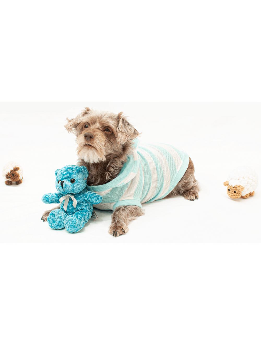 Hoodie Hunter para Perros Azul S