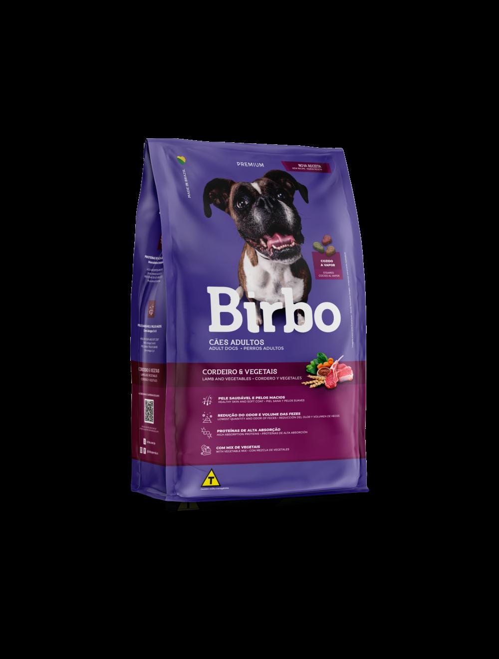 Birbo Dog Adulto Cordero y Vegetales - Ciudaddemascotas.com