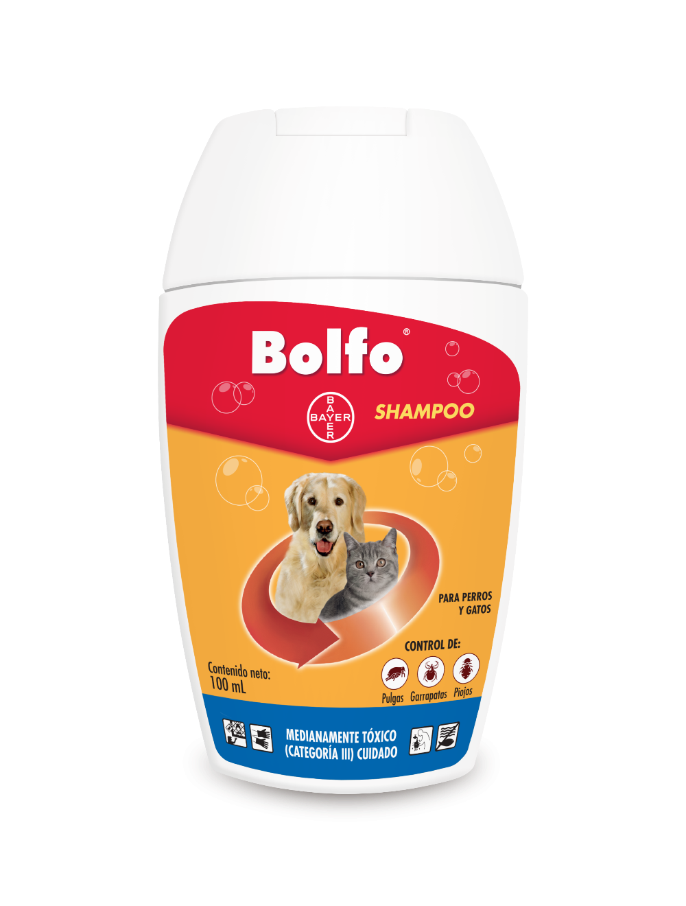 Bolfo Shampoo Perros Gatos 100ml
