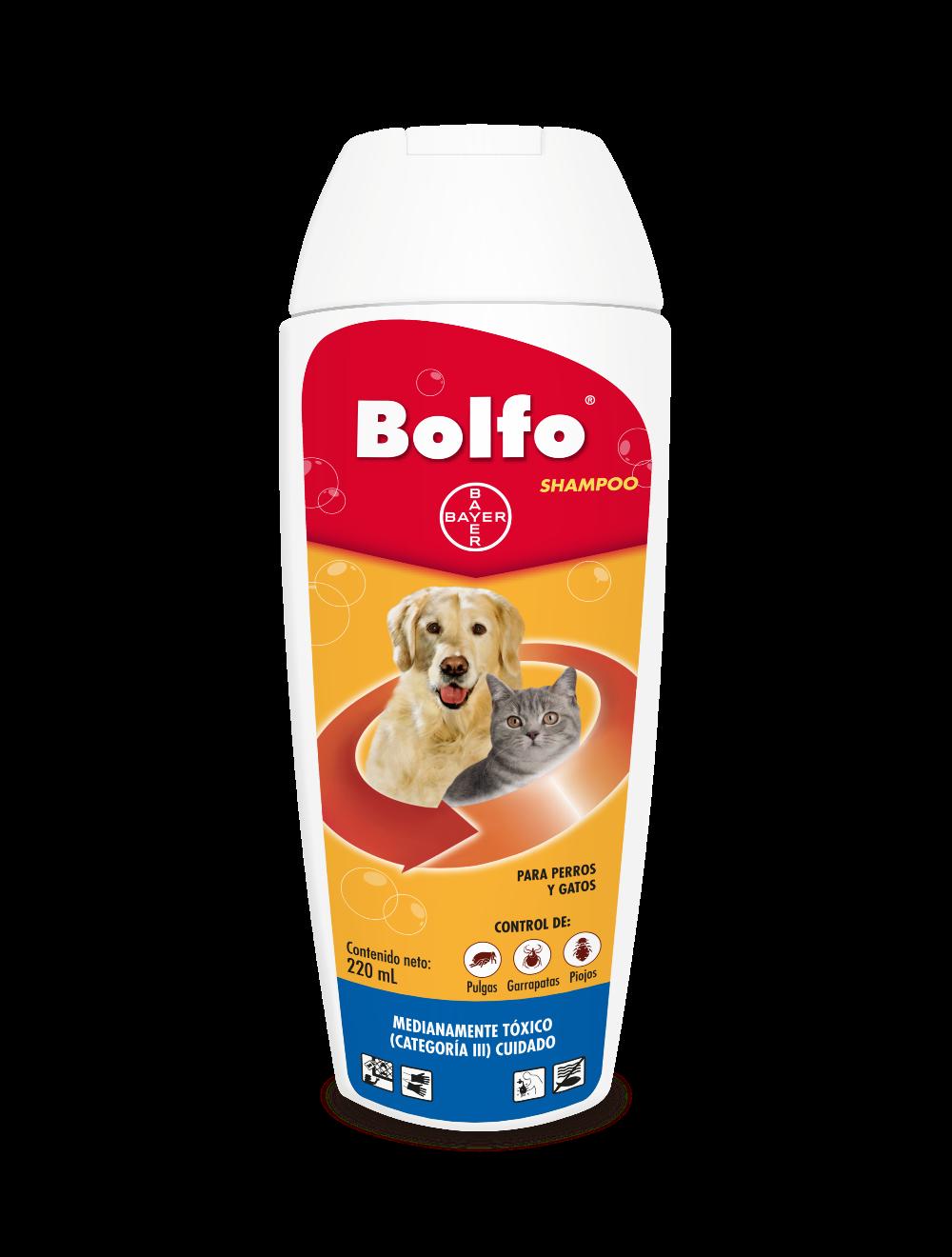 Bolfo Shampoo Perros Gatos 220ml - Ciudaddemascotas.com