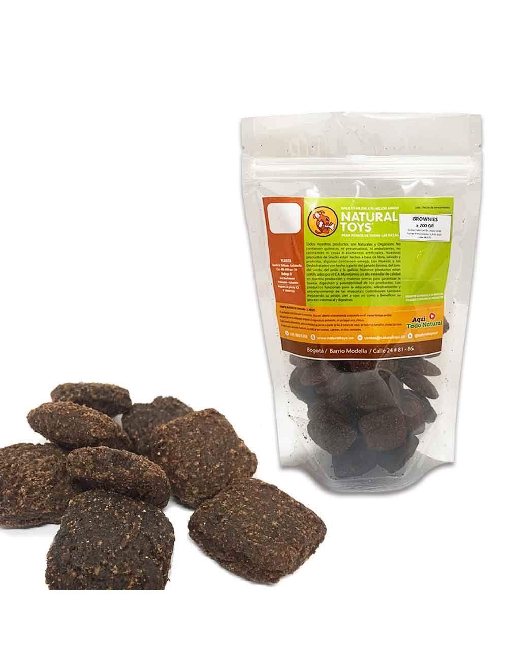 Brownies De Proteína Y Fibra Natural 200 Gr