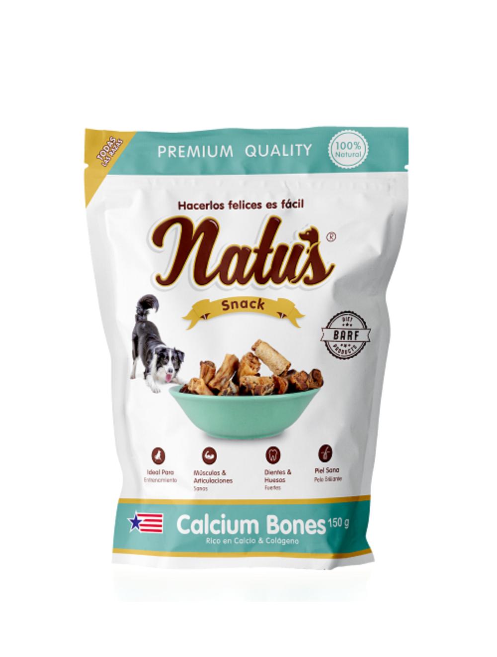 Natus Snacks Calcium Bones - Ciudaddemascotas.com