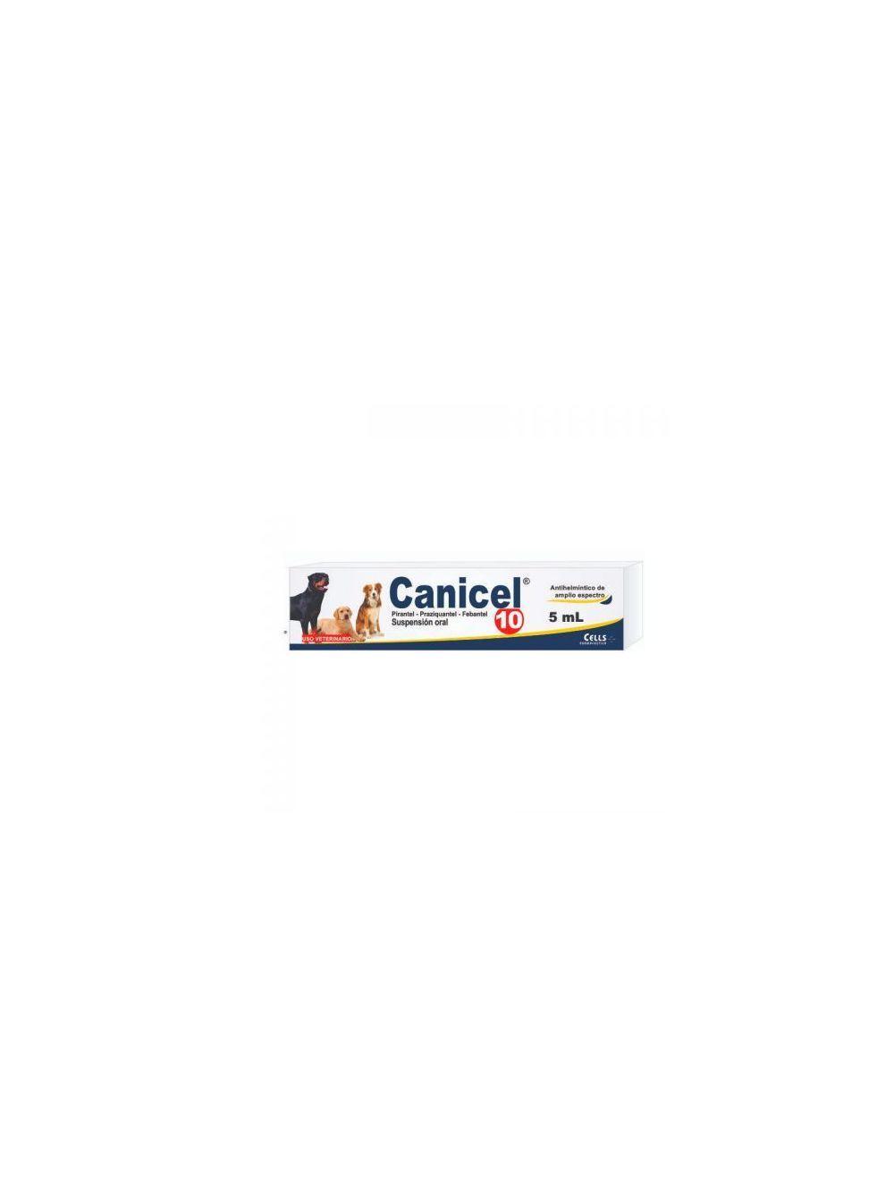 Canicel 10 Antiparasitario Perros 2ml-Ciudaddemascotas.com