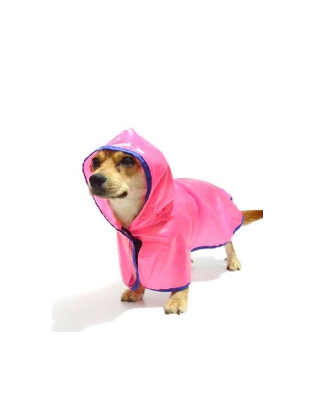 Capa Impermeable Siliconada Para Perro