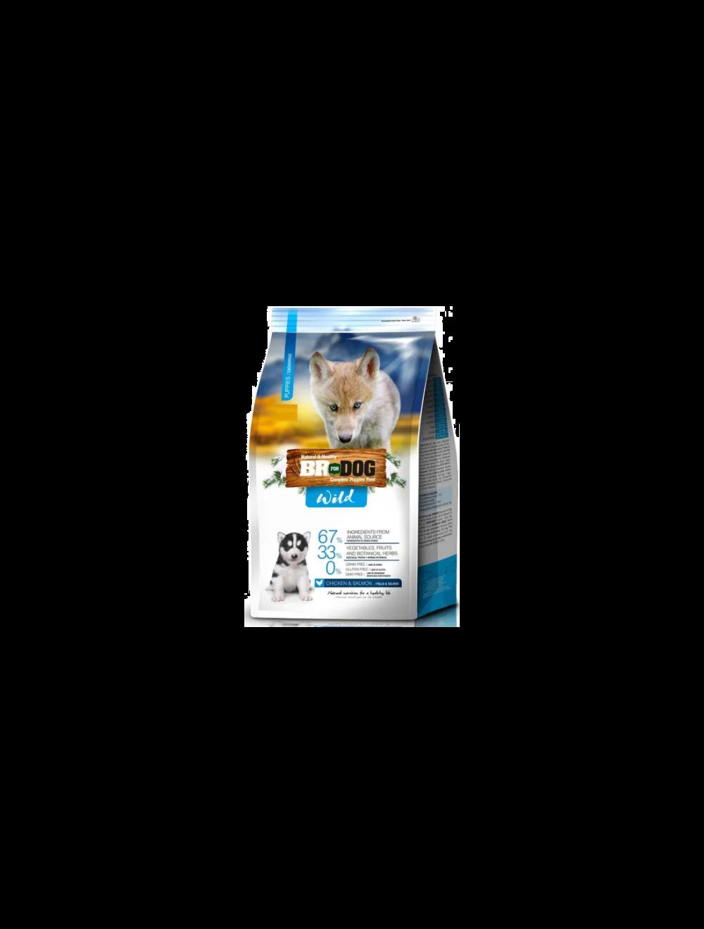Comida para perro BrForDogWildPuppies - ciudaddemascotas.com