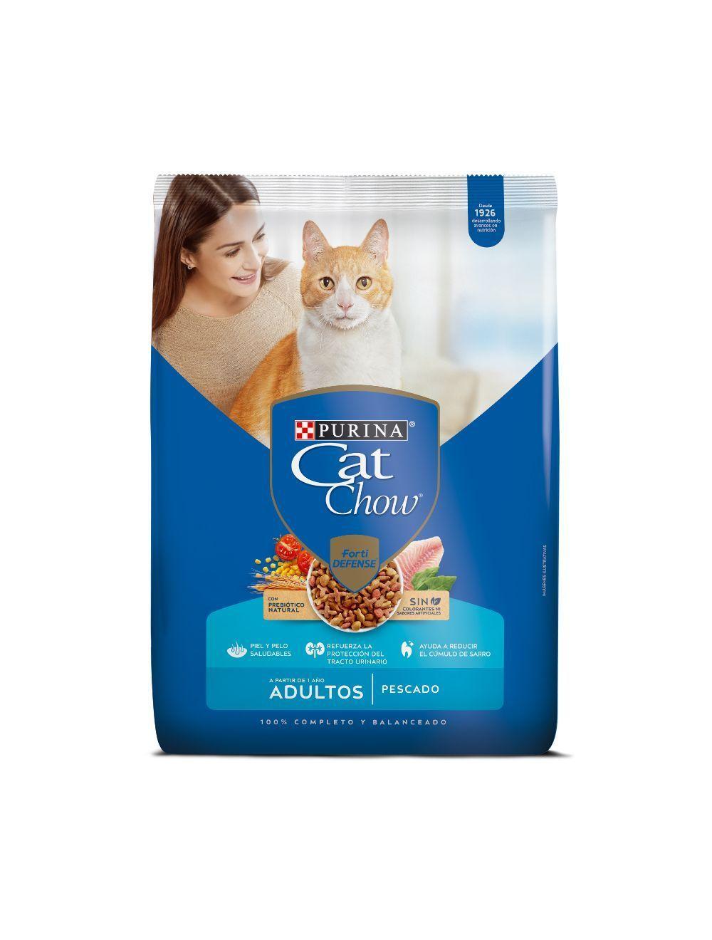 Comida Purina Cat Chow Adultos - Ciudaddemascotas.com