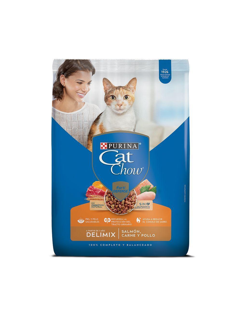 Comida para Gatos Purina Cat Chow Delimix-Ciudaddemascotas.com