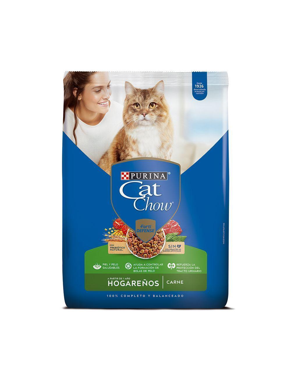 Comida para gatos Cat Chow Hogareños 8 Kg - ciudaddemascotas.com