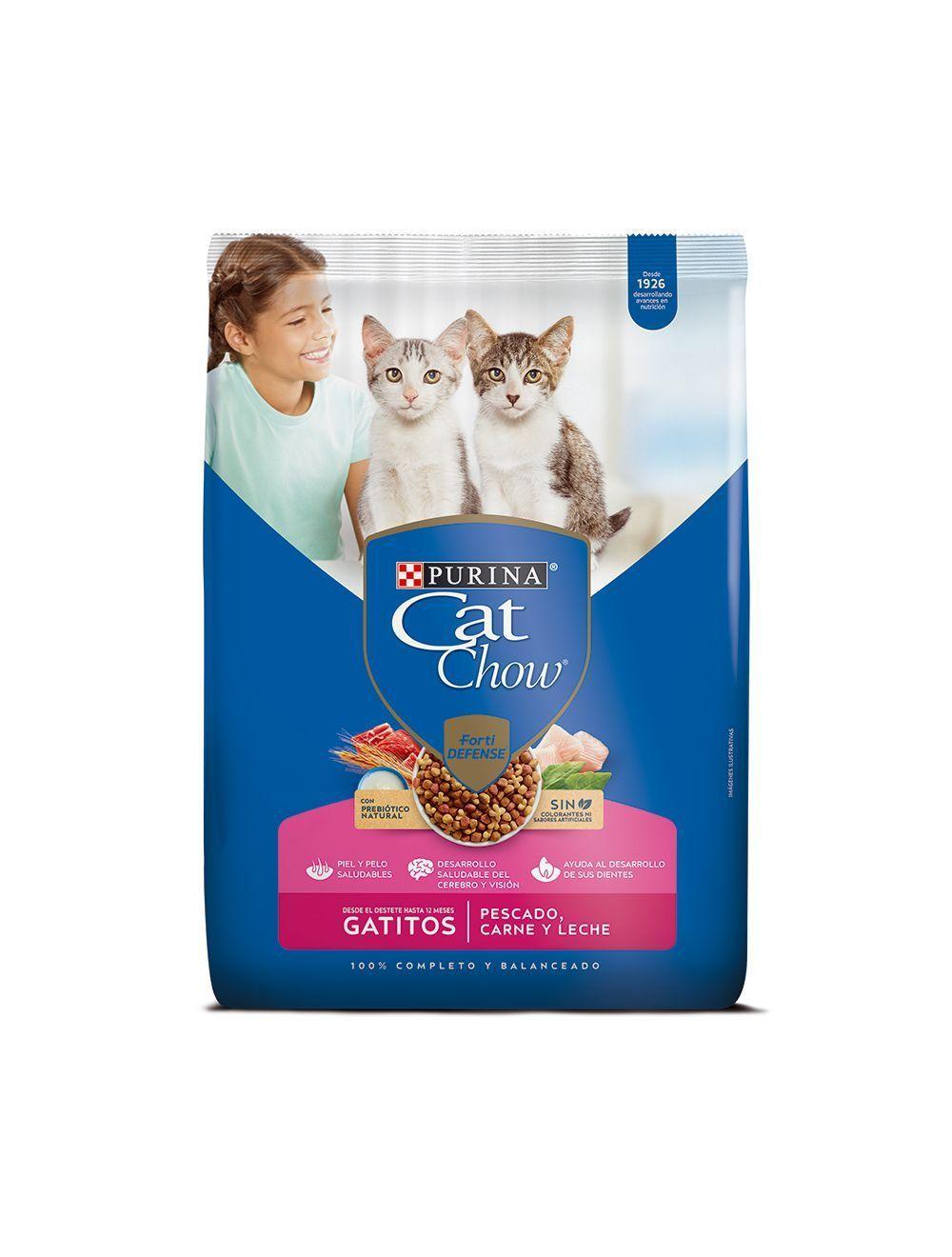 Comida para gatos Cat Chow Gatitos 1.5 Kg-Ciudaddemascotas.com