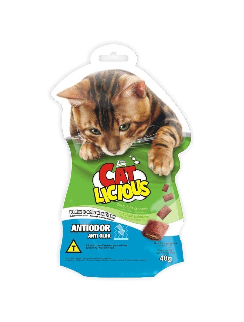 Snacks Cat Licious Antiodor