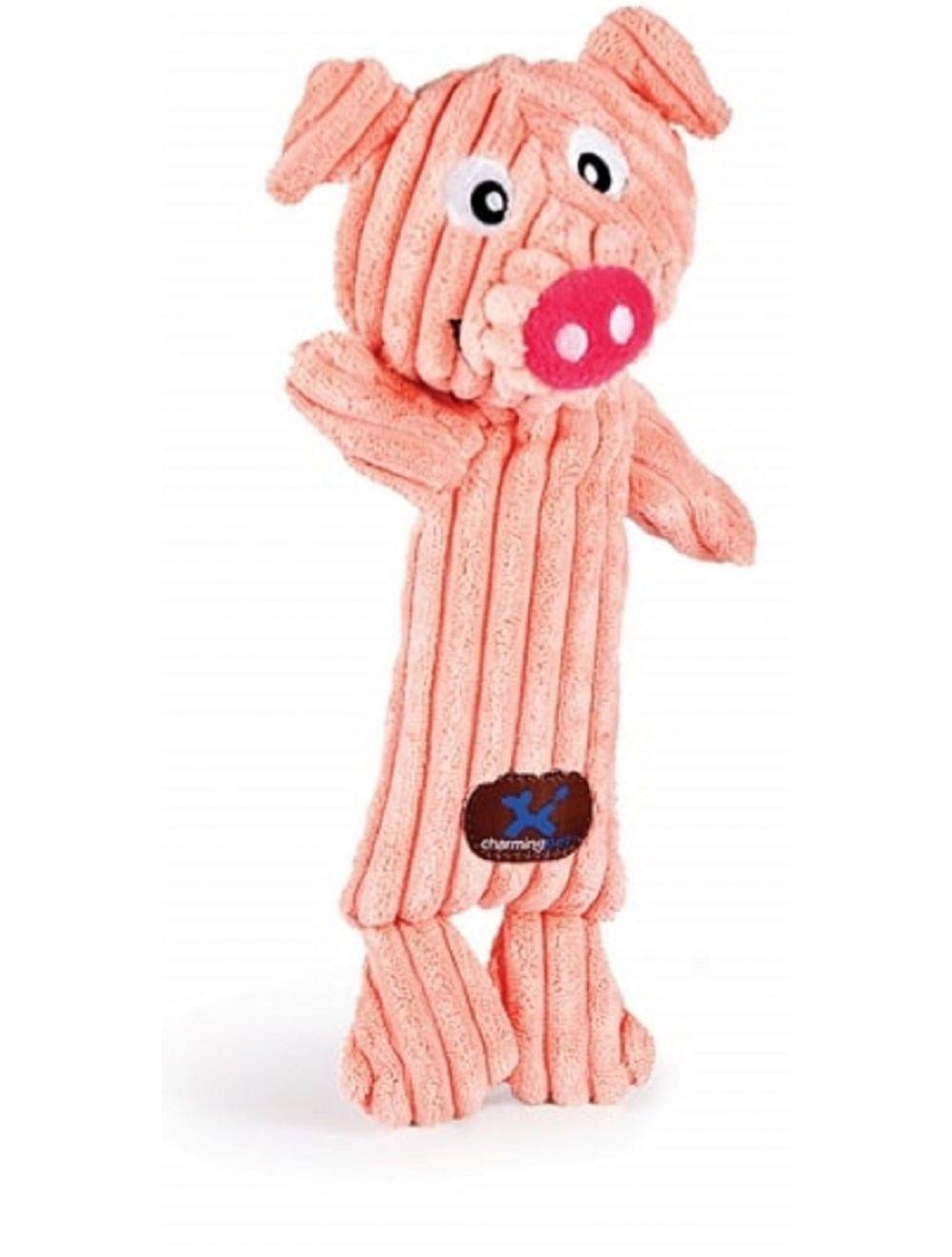 Charming pet peluche tennis head cerdo