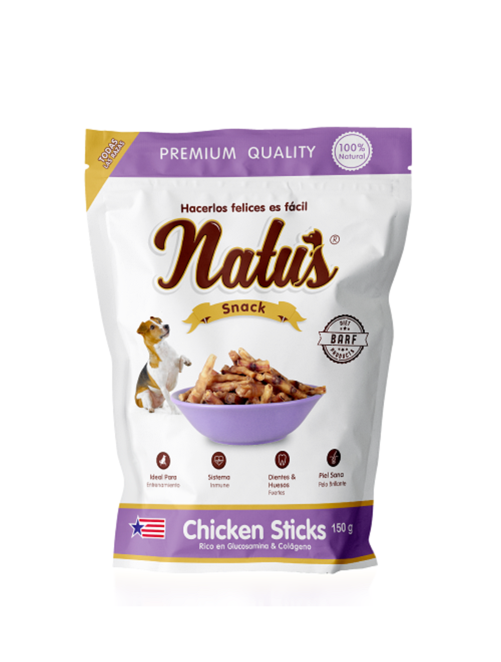 Natus Snacks Chicken Sticks